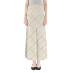 Background Pattern Maxi Skirts