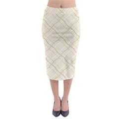 Background Pattern Midi Pencil Skirt