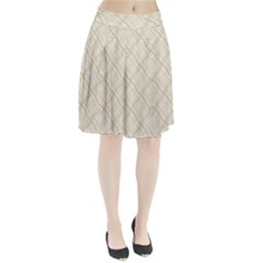 Background Pattern Pleated Skirt