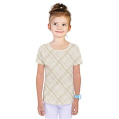 Background Pattern Kids  One Piece Tee