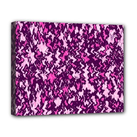 Chic Camouflage Colorful Background Deluxe Canvas 20  x 16