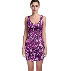 Chic Camouflage Colorful Background Sleeveless Bodycon Dress