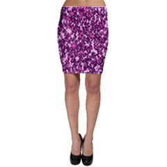 Chic Camouflage Colorful Background Bodycon Skirt