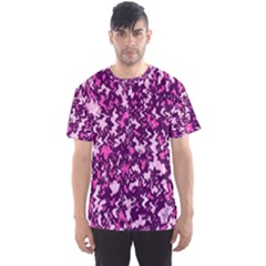 Chic Camouflage Colorful Background Men s Sport Mesh Tee