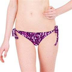 Chic Camouflage Colorful Background Bikini Bottom