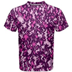 Chic Camouflage Colorful Background Men s Cotton Tee