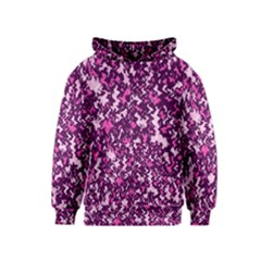Chic Camouflage Colorful Background Kids  Pullover Hoodie