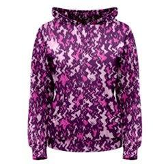 Chic Camouflage Colorful Background Women s Pullover Hoodie