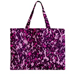 Chic Camouflage Colorful Background Zipper Mini Tote Bag