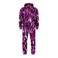 Chic Camouflage Colorful Background Hooded Jumpsuit (kids)