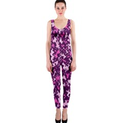 Chic Camouflage Colorful Background OnePiece Catsuit