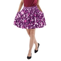 Chic Camouflage Colorful Background A-Line Pocket Skirt