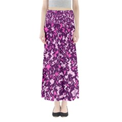 Chic Camouflage Colorful Background Maxi Skirts