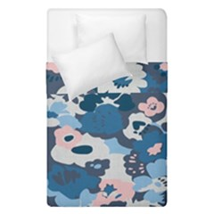Fabric Wildflower Bluebird Duvet Cover Double Side (single Size)