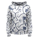 Fish Pattern Women s Pullover Hoodie View1