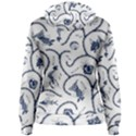 Fish Pattern Women s Pullover Hoodie View2