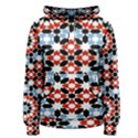 Morrocan Fez Pattern Arabic Geometrical Women s Pullover Hoodie View1