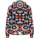 Morrocan Fez Pattern Arabic Geometrical Women s Pullover Hoodie View2