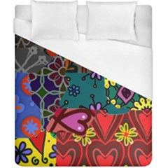 Patchwork Collage Duvet Cover (california King Size)