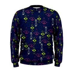 Vintage Unique Pattern Men s Sweatshirt