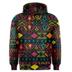 Traditional Art Ethnic Pattern Men s Pullover Hoodie
