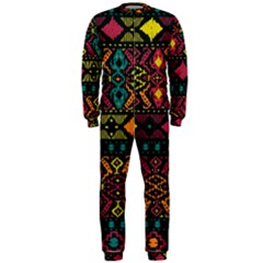 Traditional Art Ethnic Pattern OnePiece Jumpsuit (Men)