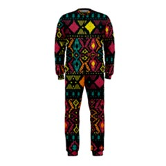 Traditional Art Ethnic Pattern Onepiece Jumpsuit (kids)