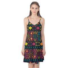 Traditional Art Ethnic Pattern Camis Nightgown