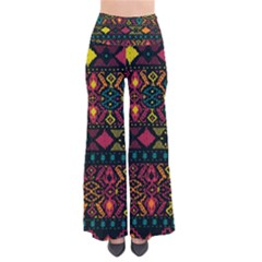 Traditional Art Ethnic Pattern Pants