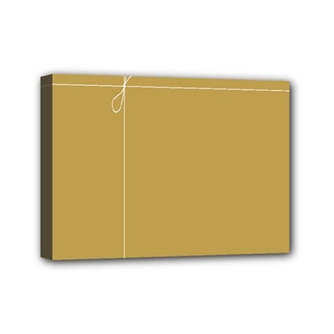 Brown Paper Packages Mini Canvas 7  x 5