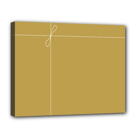 Brown Paper Packages Canvas 14  x 11