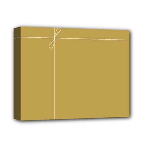 Brown Paper Packages Deluxe Canvas 14  X 11