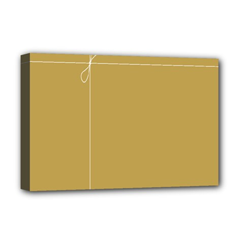 Brown Paper Packages Deluxe Canvas 18  x 12