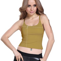 Brown Paper Packages Spaghetti Strap Bra Top