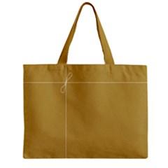 Brown Paper Packages Zipper Mini Tote Bag