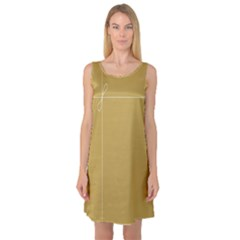 Brown Paper Packages Sleeveless Satin Nightdress