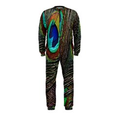 Peacock Feathers OnePiece Jumpsuit (Kids)