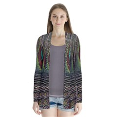 Peacock Feathers Cardigans