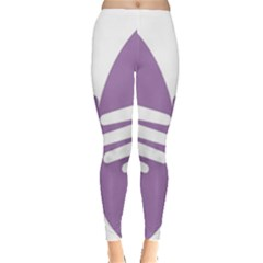 Colorful Butterfly Hand Purple Animals Leggings