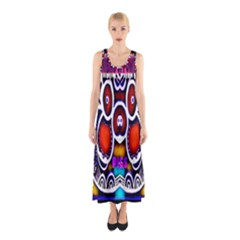 Nibiru Power Up Sleeveless Maxi Dress