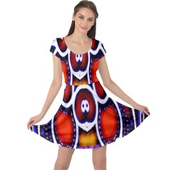 Nibiru Power Up Cap Sleeve Dresses