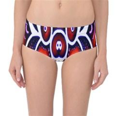 Nibiru Power Up Mid Waist Bikini Bottoms