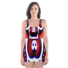 Nibiru Power Up Skater Dress Swimsuit
