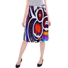 Nibiru Power Up Midi Beach Skirt