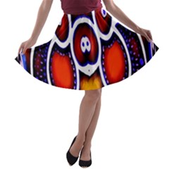 Nibiru Power Up A-line Skater Skirt