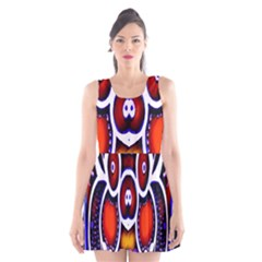 Nibiru Power Up Scoop Neck Skater Dress