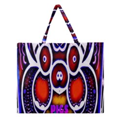 Nibiru Power Up Zipper Large Tote Bag