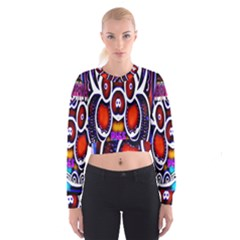 Nibiru Power Up Women s Cropped Sweatshirt