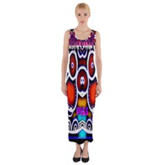 Nibiru Power Up Fitted Maxi Dress