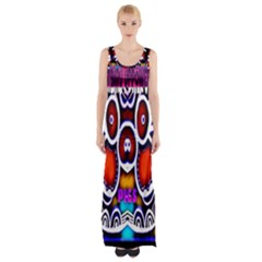 Nibiru Power Up Maxi Thigh Split Dress